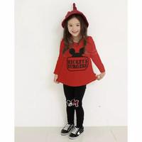 Baju Setelan Anak Perempuan Import MICKEY