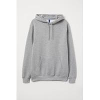 Jaket H&M Pullover Hoodie Sweatshirt Grey Original Sweater HnM