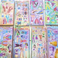 Princess barbie pasang baju / bongkar pasang /mainan anak perempuan