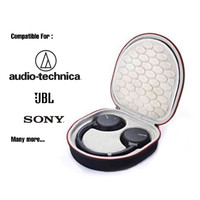 Headphone Headset hard case bag pouch box for Sony Audio Technica jbl