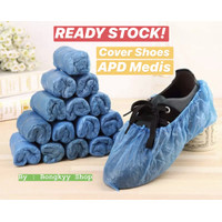 Cover Sepatu APD / Disposable Shoe Cover (WATERPROOF)
