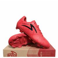 Sepatu Bola Anak Specs Diablo FG JR All Red 100738 ORIGINAL BNIB