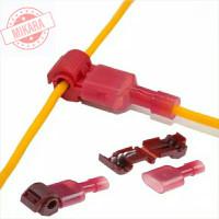 Quick Splicer T-Tap Connector Kabel Male Female Tanpa Potong/Kupas