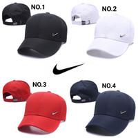 Topi Nike Logo Simple Import / Topi Nike Plat Alumunium