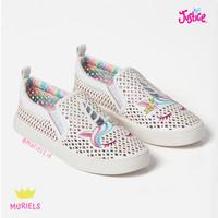 Justice Rainbow Unicorn Sneakers Sepatu Jalan Sneaker Anak Original