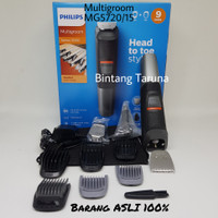 PHILIPS MG5720/15 Multigroom Series 5000 9-in-1 Shaver for Face & Hair