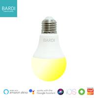 Bolam Lampu BARDI LED Smart Light Bulb Wifi 9W WW Dim CCT Putih Kuning