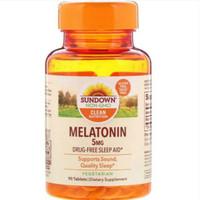 sundown sun down melatonin 5mg 5 mg isi 90 tabs