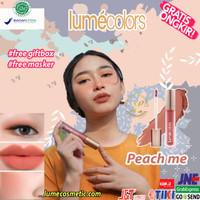LUMECOLORS VELVET LIP & CHEEK MOUSSE - PEACH ME