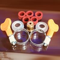 Paket ventilator selang gas lpg /keamanan tabung,selang dan regulator