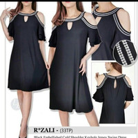Dress Roz&Ali ada 2 pilihan wrna black and purple