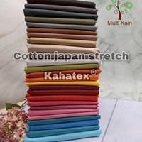 Multi kain katun cotton stretch spandex stret kahatex murah eceran