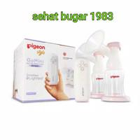 pigeon go mini double pump breast electric Terbaru