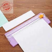Alat Pemotong Kertas Portabel Mesin Paper Cutter Serbaguna