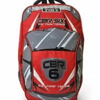 CBR SIX Lanz DIC 423 Tas Ransel Anak Laki-laki - Merah - Merah