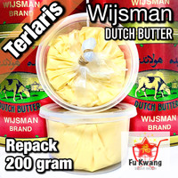 Mentega Wijsman Wyjsman Wisman Wysman Butter repack 200 gram