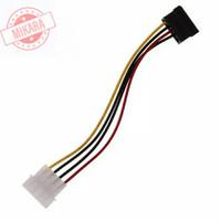 Kabel Converter 4 Pin IDE Male to 15 Pin Female SATA
