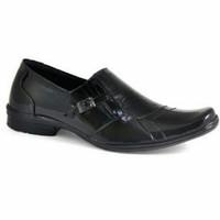 Sepatu Formal Pantofel Pria kulit Hitam CBR Six TFC 395 Murah original
