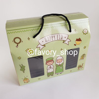 Box Lebaran 4 Toples 250gr Green / Packaging Hampers Idul Fitri