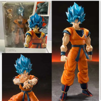 SHF Dragon Ball Super Saiyan Blue Son Goku Action Figure
