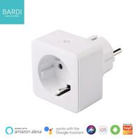 BARDI Smart Plug Colokan Listrik Wifi Wireless - Smart Home Automation