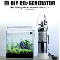 Paket Co2 DIY KIT CISOD Generator tabung solenoid buble counter