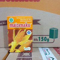 [satuan] Tepung Maizena Corn Starch MAIZENAKU 150 gram / 150gr