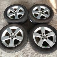 Velg Mobil Oem Honda Civic Ring 16 pcd 5×114 + Ban Dunlop 205-55