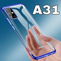 Soft Case Samsung A31 Luxury Croum