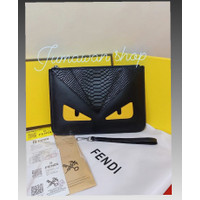 Clutch F3ndi Grade Ori Quality clutch pria & wanita handbag fendi