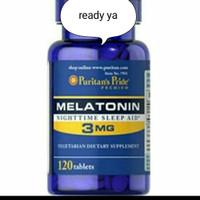 suplemen melatonin. (puritans pride) isi 120