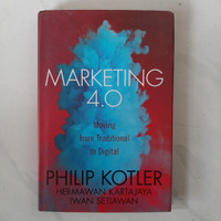 Buku MARKETING 4.0 Moving From Traditional To Digital by Philip Kotler