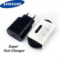 Charger Samsung Note 10 super Fast Charging Type C Black Original100%