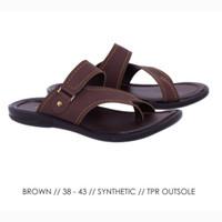 C 1AQ23 Sandal Pria Sandal Jepit Pria Sandal Distro Casual Pria Trendy