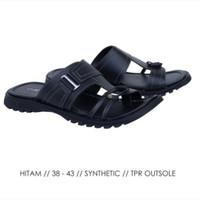 C 1AQ12 Sandal Pria Sandal Slop Pria Sandal Distro Casual Pria