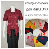 9304   Indah Kebaya Abaya Kurung Modern Encim Kutubaru Bali Maya Murah