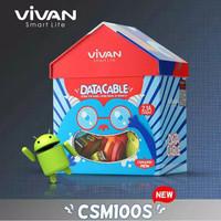 kabel data vivan 2A fast charging original 100%