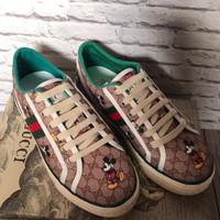 Sepatu Guccii Disney Print grade ori quality sepatu wanita & pria