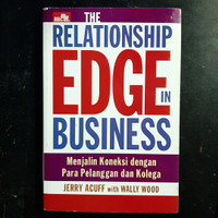 Buku Relationship EDGE In Business by Jerry Acuff with Wally Wood