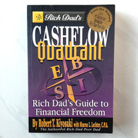 Buku Cashflow Quadrant by Robert T. Kiyosaki Bahasa Inggris