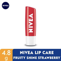 NIVEA Lip Care Fruity Shine Beauty Stick Strawberry 4.8gr