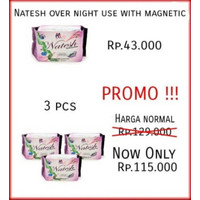 Promo Lebaran!! Natesh Night (Pembalut Herbal)