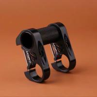 Litepro Stem Handlebar Sepeda Double Stem Adjustable adapter stang