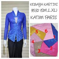 9098 Indah Kebaya Modern Encim Kutubaru Bali Murah Batik Bordir Brokat