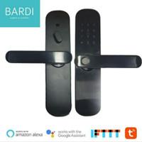 BARDI Smart Door Lock Handle Pintu Wireless RFID PIN Fingerprint