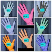 ps sarung tangan pelindung tangan medis - Hijau Muda