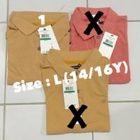 Kemeja anak laki 14/16 tahun baju polo anak branded sisa eksport