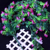Bunga Plastik/ Daun Rambat/ Rumput Plastik/ Busa Bunga/ Blossom Wajik