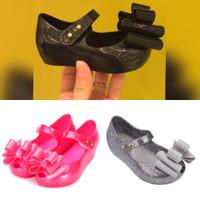 Sepatu Anak Mini Melissa Sweet III, sepatu Jelly Minimelissa Glitter