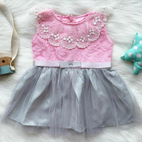 baju dress 0-12 bulan pesta bestseller anak bayi cewek murah -cas